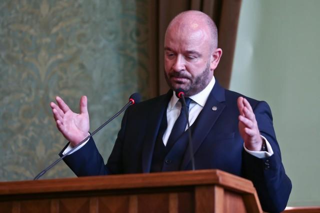 Prezydent Wrocławia Jacek Sutryk.