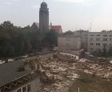 Wielka rozbiórka na ulicy Karola Miarki w Opolu
