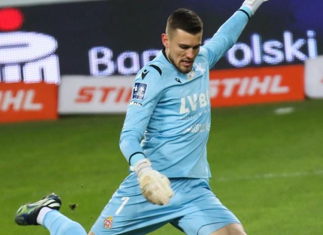 Mateusz Lis w tym sezonie ma bardzo pewne miejsce w bramce Wisły Kraków