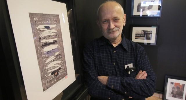 """W Kielcach powstał """"sklep ze sztuką""""Na początek """"Sklep ze sztuką"""" zaoferuje grafiki Marka Wawro."""