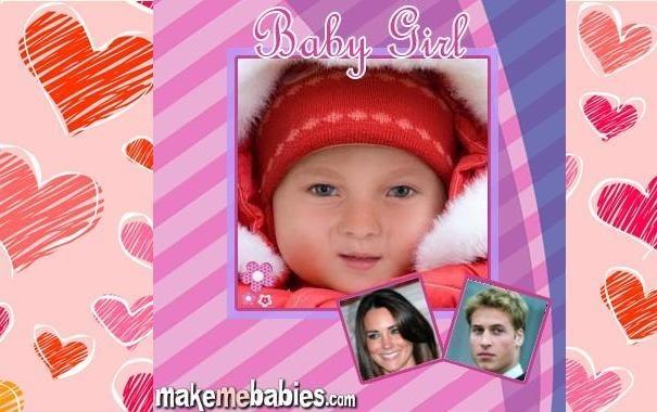może wyglądać właśnie tak (zdjęcie wygenerowane przez portal makemebabies.com)