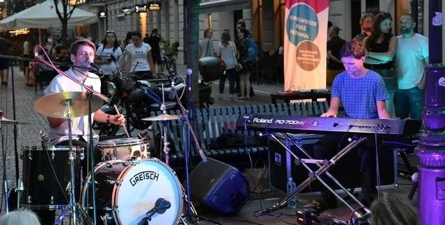 Duet Bolewski&Tubis na ubiegłorocznym festiwalu Songwriter.