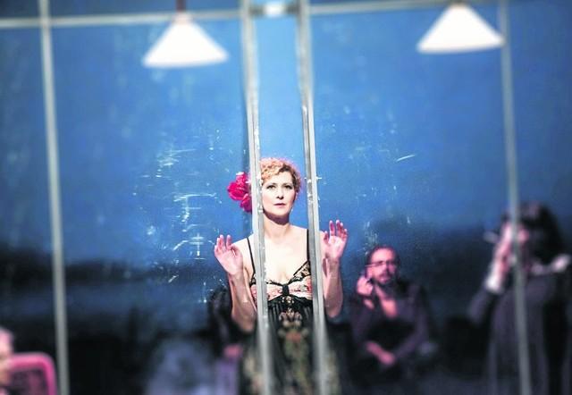 Marta Zięba w roli Joany Thul zachwyciła widzów przedstawienia