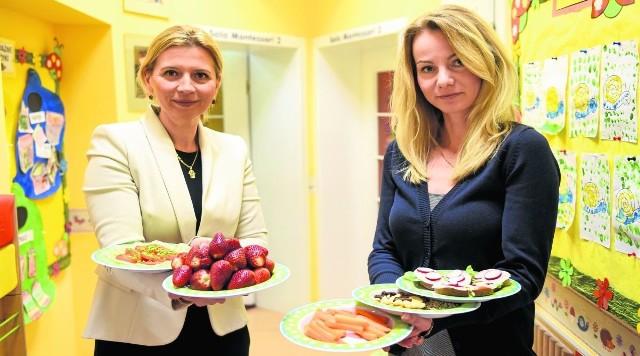 Małgorzata Stankiewicz-Klimka i Justyna Kin prezentują bezglutenowe przysmaki