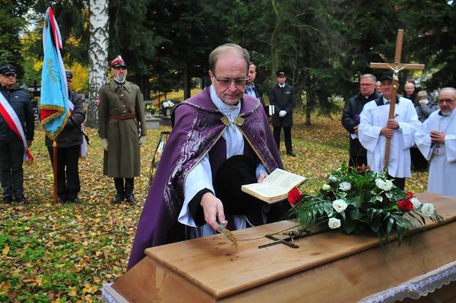 Pogrzeb podróżnika Władysława Grodeckiego
