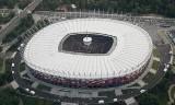 Mecz Polska - Grecja przy zamkniętym dachu