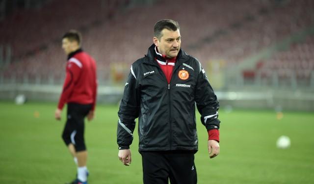 Przemysław Cecherz pracował także w Widzewie Łódź, ale nie udało się mu wywalczyć awansu do II ligi
