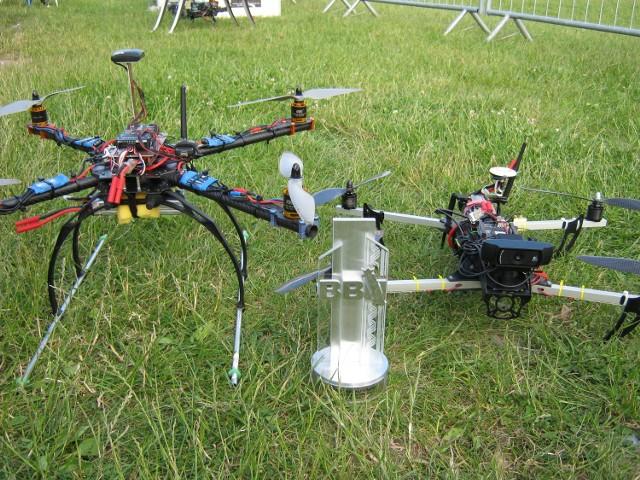 Drony z koła naukowego JEDI podczas Droniady w Krakowie - z pierwszą nagrodą Szefa Biura Bezpieczeństwa Narodowego