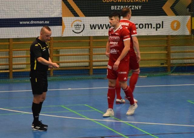 Marcin Grzywa zdobył dla Dremana dwa bezcenne gole.