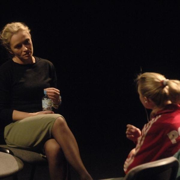 Improwizacje aktorskie, które są stałym punktem programu Odramy, to duże wyzwanie dla artystów.