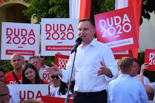 Andrzej Duda zwyciężył w pierwszej turze wyborów w powiecie grudziądzkim