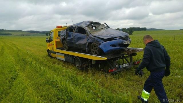 Do wypadków doszło dokładnie w tym samym miejscu, na obu nitkach autostrady A4.