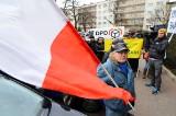 Działkowcy w Poznaniu. Kolejny protest pod siedzibą PZD [ZDJĘCIA]