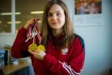 Julia Łodzińska to złota dziewczyna w koluchstyl i taekwondo