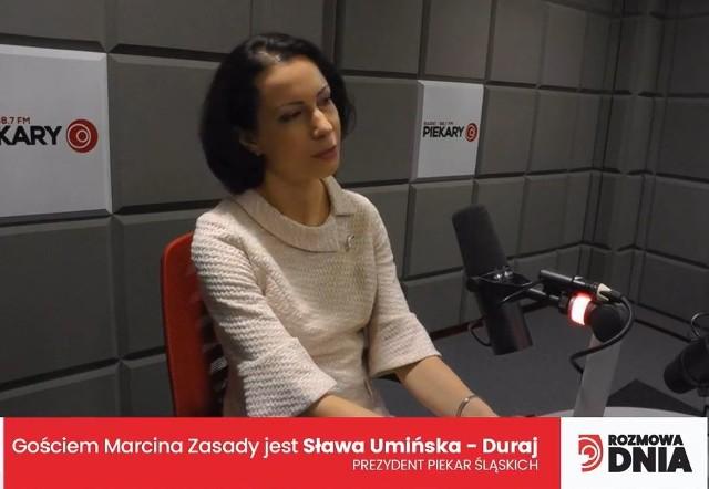 Sława Umińska-Duraj, prezydent Piekar Śląskich
