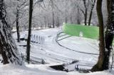 Zima w Krośnie Odrzańskim kilkanaście lat temu. Zdjęcia miasta w śniegu autorstwa Stanisława Straszkiewicza