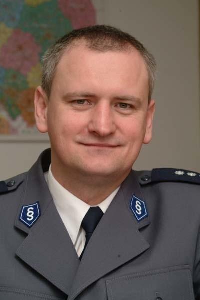 Podinspektor Marek Paszkiewicz.