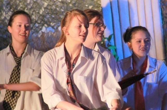Aktorzy z Praszki na Dionizjadzie w Byczynie