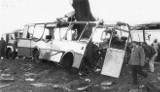 Katastrofa autobusu w Kokoszkach. 26. rocznica tragicznego wypadku autobusu w Kokoszkach. Archiwalne zdjęcia