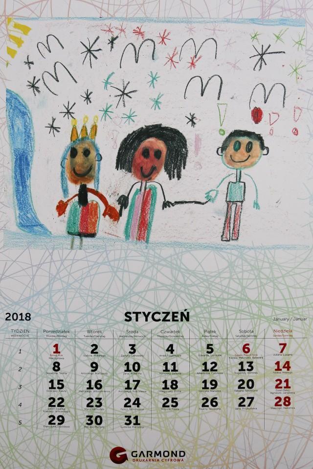 Misie na każdy miesiąc roku narysowały dzieci