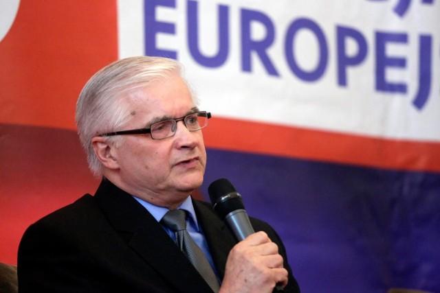 Włodzimierz Cimoszewicz 5 maja 2019 r., a więc dzień po wypadku, w Warszawie wziął udział debacie z udziałem wiceszefa Komisji Europejskiej Fransem Timmermansem i Aleksandrem Kwaśniewskim, byłym prezydentem RP.
