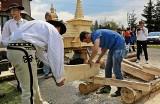 Tak się buduje na Podhalu domy z drewna