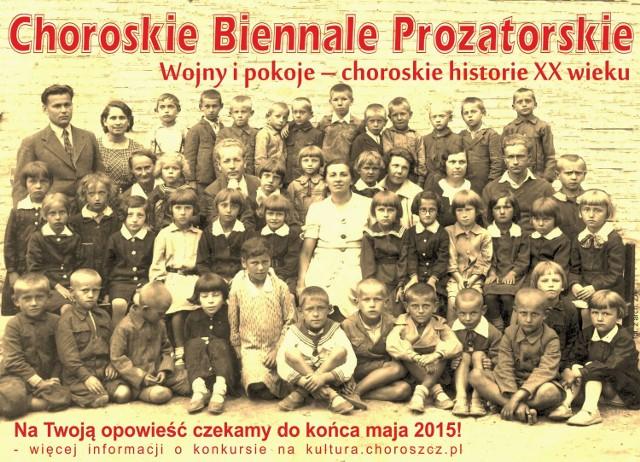 Tematyka prac na konkurs Choroszczańskie Biennale Prozatorskie musi być związana z historią XX wieku, dotykać choroszczańskiej małej ojczyzny i losów jej mieszkańców