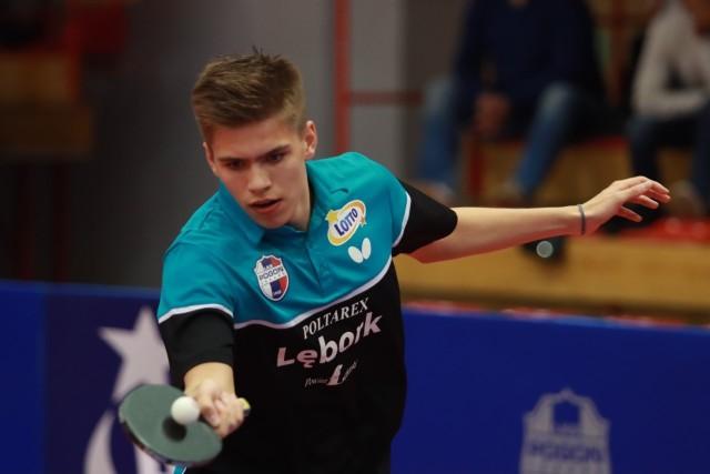 Alan Kulczycki (rocznik 2006) jest najmłodszym graczem z Lęborka i zdobywa doświadczenie w najwyższej klasie rozgrywek w Polsce
