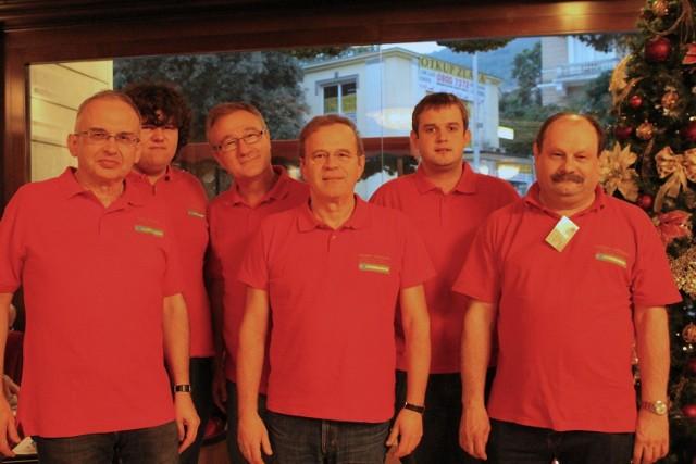 Nasza ekipa w składzie (od lewej): Piotr Gawryś, Michał Klukowski, Michał Kwiecień, Włodzimierz Starkowski, Piotr Tuczyński i Stanisław Gołębiowski.