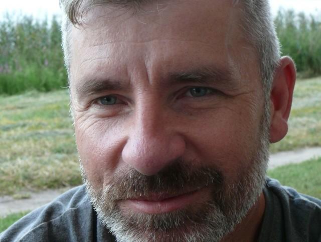 Robert Latos, wędkarz z Kielc.