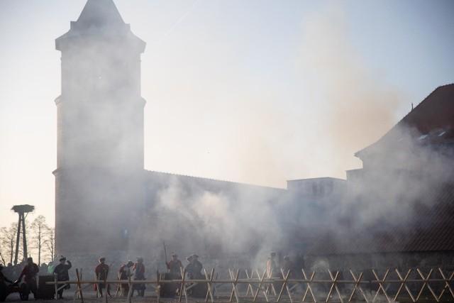 Szturm na zamek w Tykocinie oglądały setki widzów