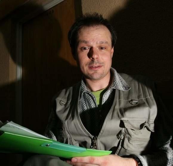 Rafał Kosno znany jako Zielony jest wojującym ekologiem
