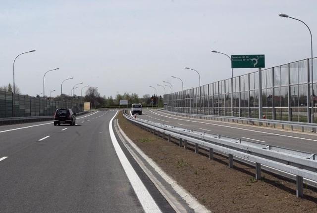 Odcinek łączący Rzeszów z drogą S19.