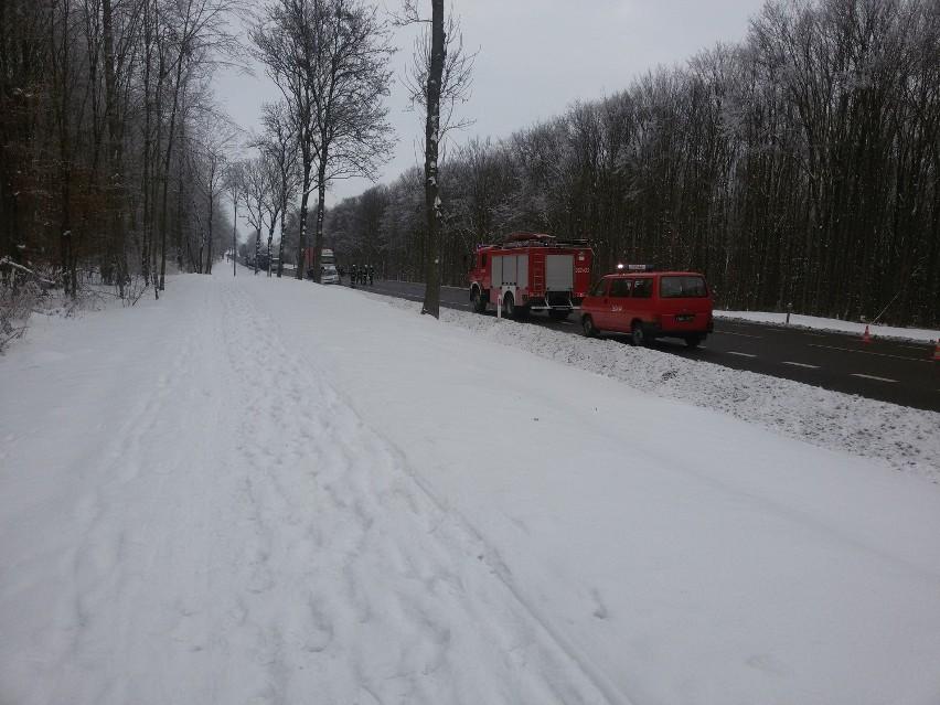 Wypadek w Janowie: 5-letnie dziecko trafiło do szpitala