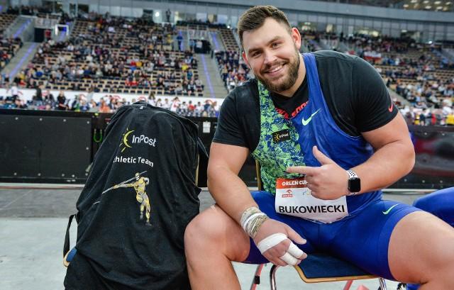Konrad Bukowiecki marzy o zdobyciu złotego medalu.
