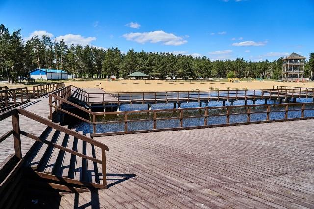 Gmina Michałowo planuje nowe inwestycje na zbliżający się sezon letni nad zalewem Siemianówka.