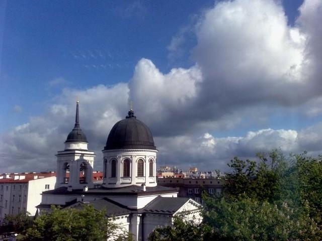 Pogoda w Białymstoku nie rozpieszcza