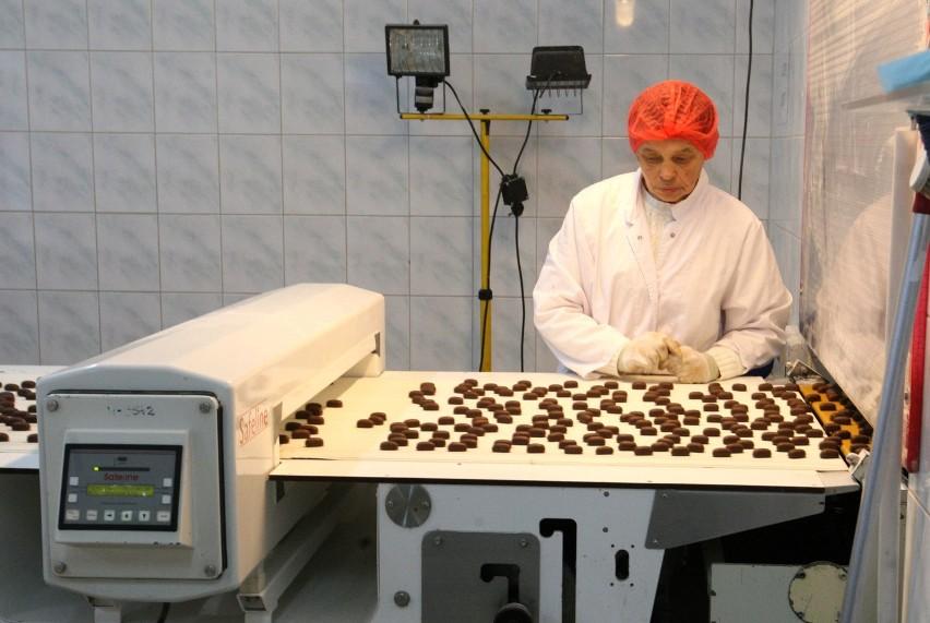 """Słodycze firmy """"Bałtyk"""" trafiają  w różne zakątki świata od..."""