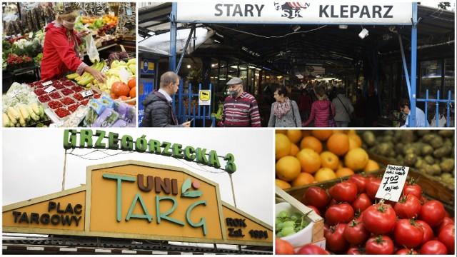 Jakie są ceny owoców i warzyw w Krakowie? Porównaliśmy ceny na popularnych krakowskich targach.