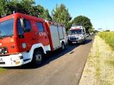 Śmigłowiec LPR zabrał poszkodowaną w wypadku w gminie Papowo Biskupie. Zdjęcia