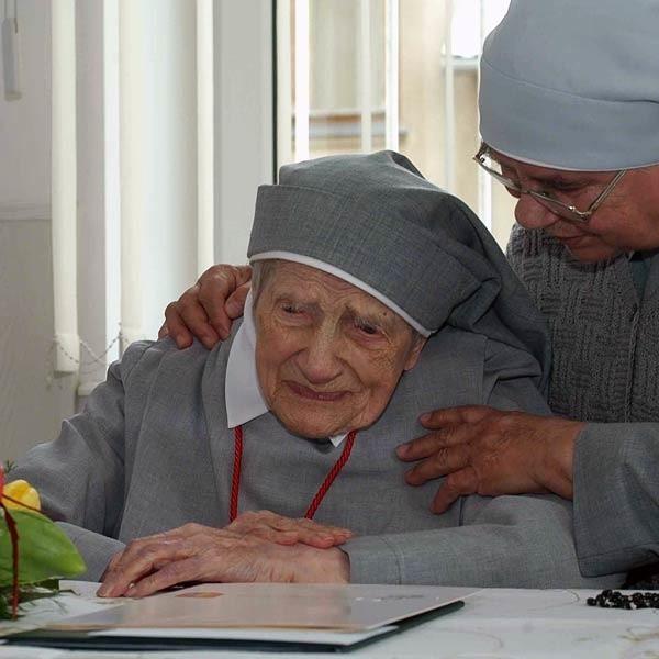 - Siostra Konkordia swoje życie wypełniła modlitwą ofiarą i pracą - mówi s. Alojza Krzymkowska.