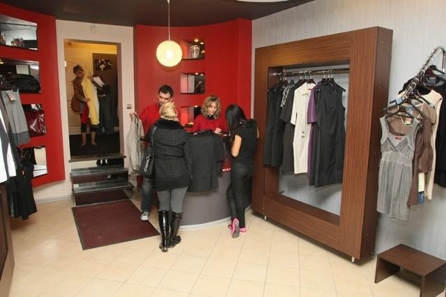 W nowym butiku ubrania Filabres cieszą się dużym zainteresowaniem kielczanek.