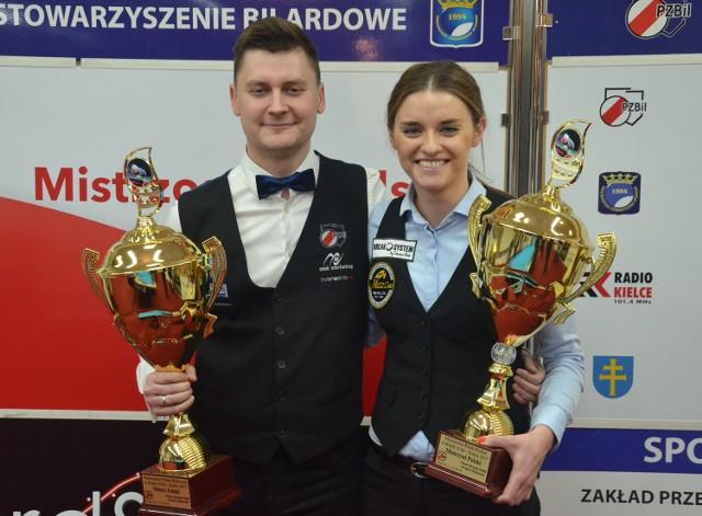 Zwycięzcy odmiany 10 bil - Katarzyna Wesołowska i Karol Skowerski