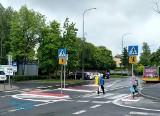 Na życzenie mieszkańców ZDM Poznań montuje azyle dla pieszych przy ul. Stróżyńskiego