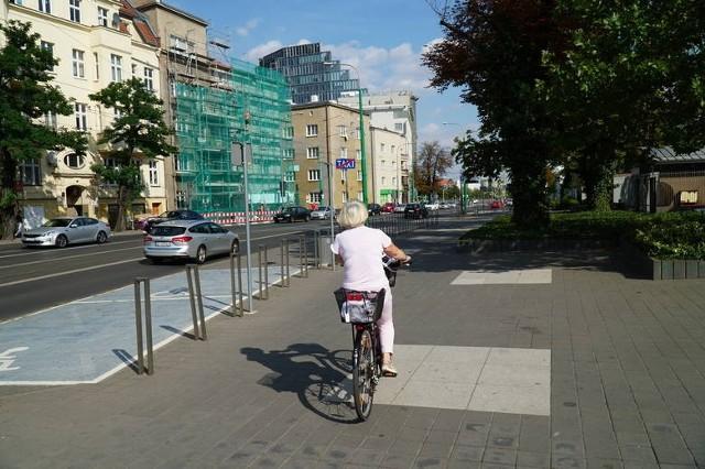 Droga rowerowa na ul. Grunwaldzkiej ma docelowo połączyć rejon Junikowa i os. Kopernika z centrum miasta