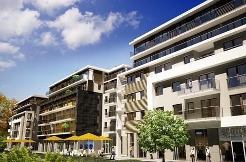 Tak będzie wyglądał apartamentowiec Promenada Solna, który realizowany jest przez Volumetric.