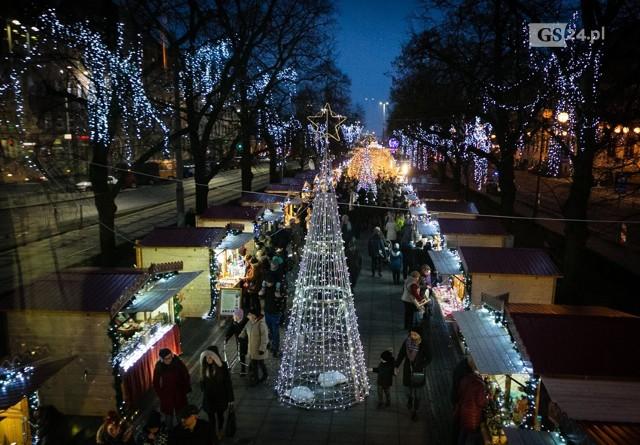 Tak było podczas poprzednich edycji Jarmarku Bożonarodzeniowego w Szczecinie.