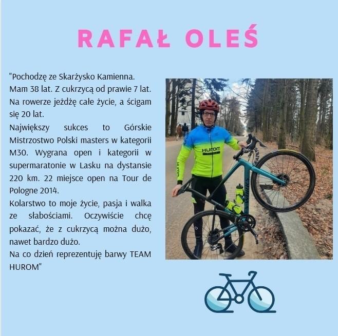 Z cukrzycą na kole – Rafał Oleś ze Skarżyska-Kamiennej przejedzie rowerem całą Polskę