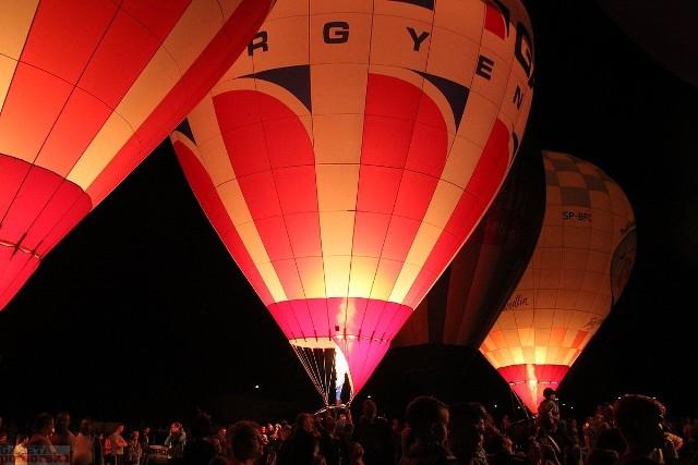 Podczas gali obecne były też trzy balony z Włocławka