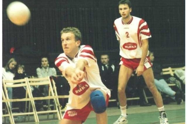 Wojciech Stępień siatkarz Czarnych Radom.